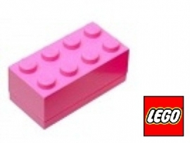 Lego Mini brick XS Roze