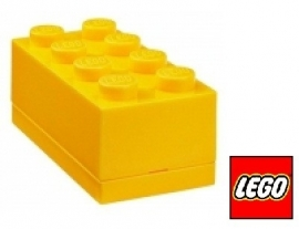 Lego Mini brick XS Geel