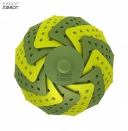 Flexibele stoommand groen