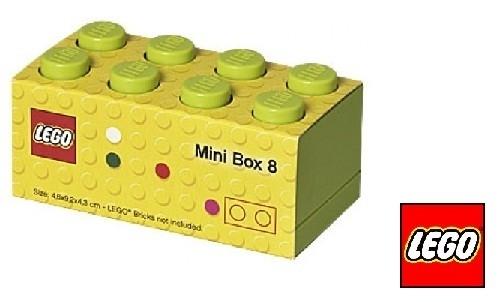 Lego Mini brick XS Lime Groen