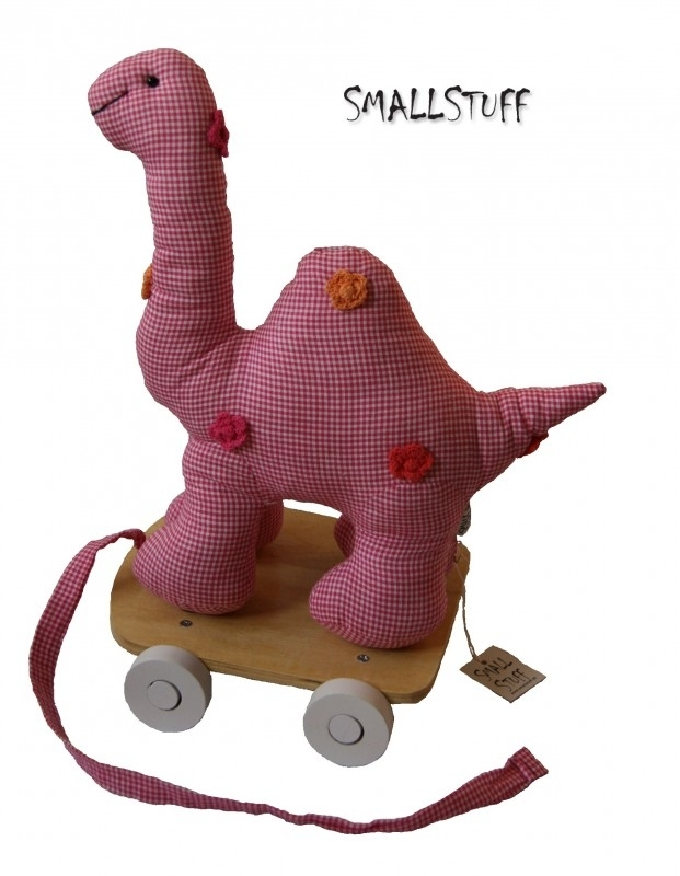 SmallStuff Dino on Wheels rose