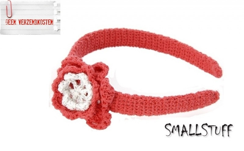 SmallStuff Diadeem Rood / Wit