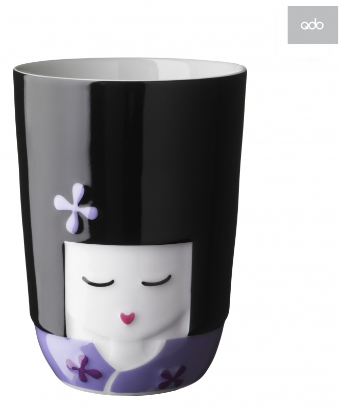 QDO design Kokeshi Thermo mok