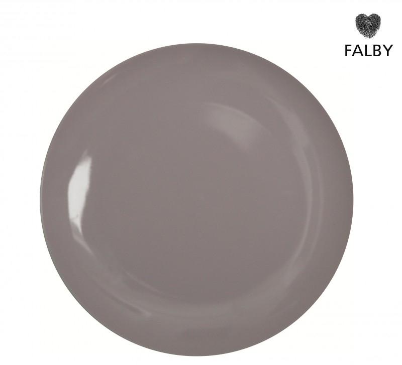 Porseleinen bordje pastel lavendel
