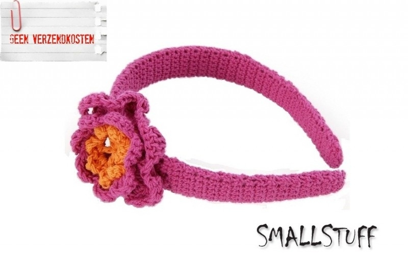 SmallStuff Diadeem Rose / Oranje