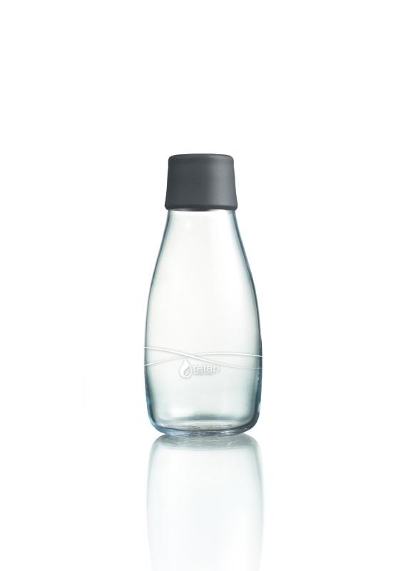 Retap Waterfles 0,3 lt met grijze dop
