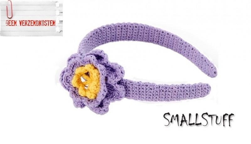 SmallStuff Diadeem Lavendel / Geel