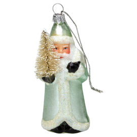 Greengate xmas Santa Glass mint