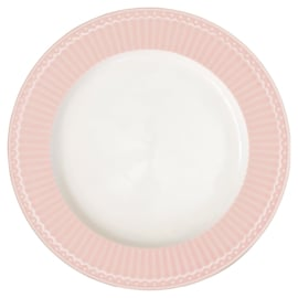 Greengate Stoneware Alice pale pink  dinnerplate