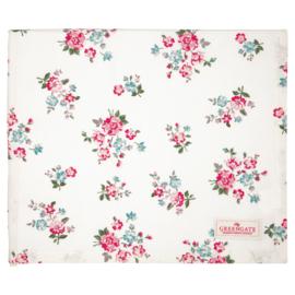 Greengate Tablecloth Sonia white 150x150cm