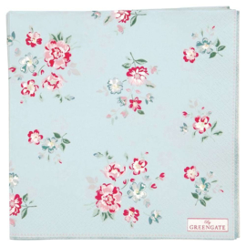 Greengate Paper Napkins Sonia pale blue large 20pcs