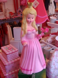 """figuurlamp """"prinses roze"""""""