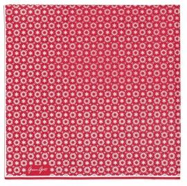 Greengate paper napkins Lina red