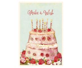 Maileg kaart birthday cake (+enveloppe)