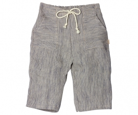 Maileg kledingsetje mega (Large) boy, pants blue stripes
