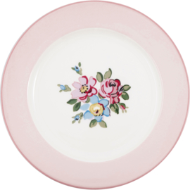 Greengate stoneware Madison white dinnerplate