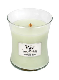 WoodWick® Sweet Lime Gelato Medium Candle