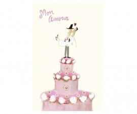 Maileg kaart mon amour (+enveloppe)
