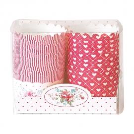Greengate Cupcake cups Abelone white