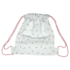 Greengate cotton kids bag Lily petit white