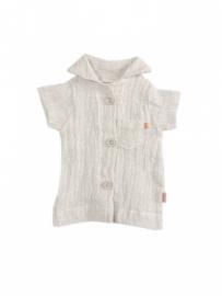 Maileg kledingsetje mega (Large) boy, shirt grey