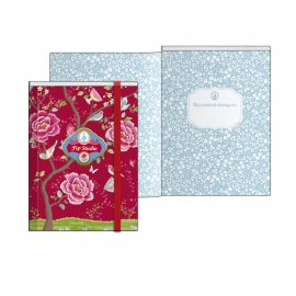 Pip Chinese Blossom red Yearround collection `14-`15, Notebook A5