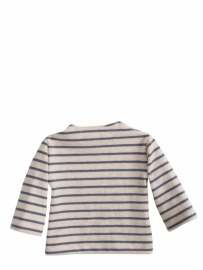 Maileg kledingsetje mega (Large) boy, t-shirt striped blue/offwhite
