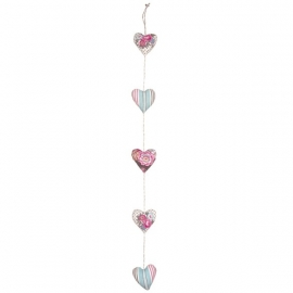 Greengate heartchain Tilde off white