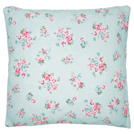 Greengate Cushion cover Sonia pale blue 50x50cm
