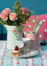 Greengate cushion cover Nellie sorbet