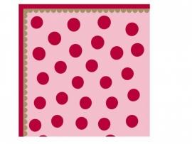 Room Seven papieren servetten, Dots