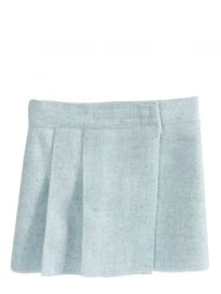 Maileg kledingsetje maxi girl, wool tweed skirt blue