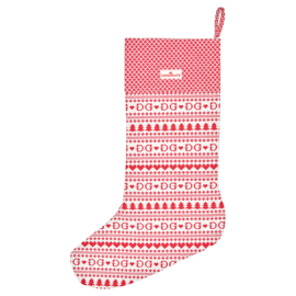 Greengate xmas stocking red