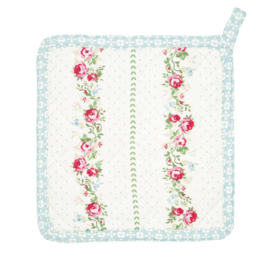 Greengate potholder Gabby white set of 2pcs