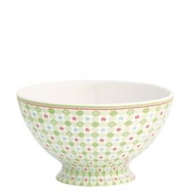 Greengate Stoneware Mimi pale green soup bowl