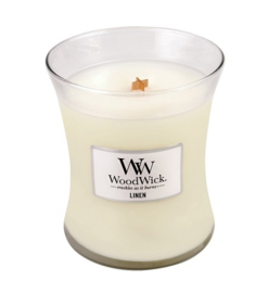 WoodWick® Linen Medium Candle