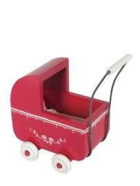 Maileg wandelwagen small, rood