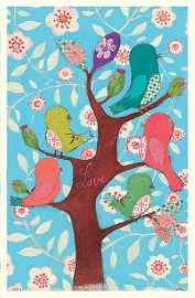 Maileg kaart birds on tree (+enveloppe)