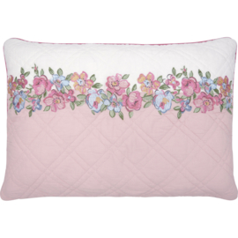 Greengate Cushion cover Madison white 40x60cm w embroidery