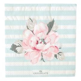 Greengate paper napkins Maria aqua