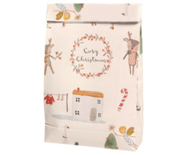 Maileg Gift bag, Cosy Christmas - Off white