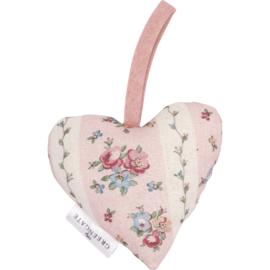 Greengate heart-hanger Ava white