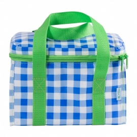 Rice cooler lunchbag met koel-element, blauw