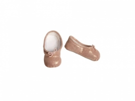 Maileg kledingsetje mega (Large) girl, ballerina shoes gold