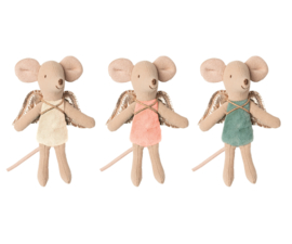 Maileg Fairy mouse-hanger, 3 assorti