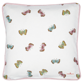 Greengate Cushion cover Maisie white 40x40cm