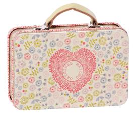 Maileg metal suitcase, Flower