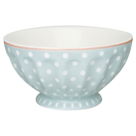 Greengate Stoneware Sot pale blue French bowl Xlarge