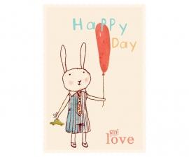 Maileg kaart happy day boy(+enveloppe)