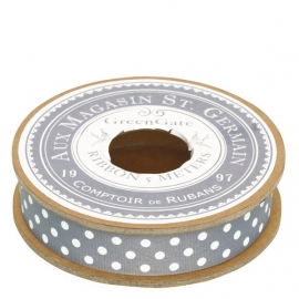 Greengate ribbon spot warm grey